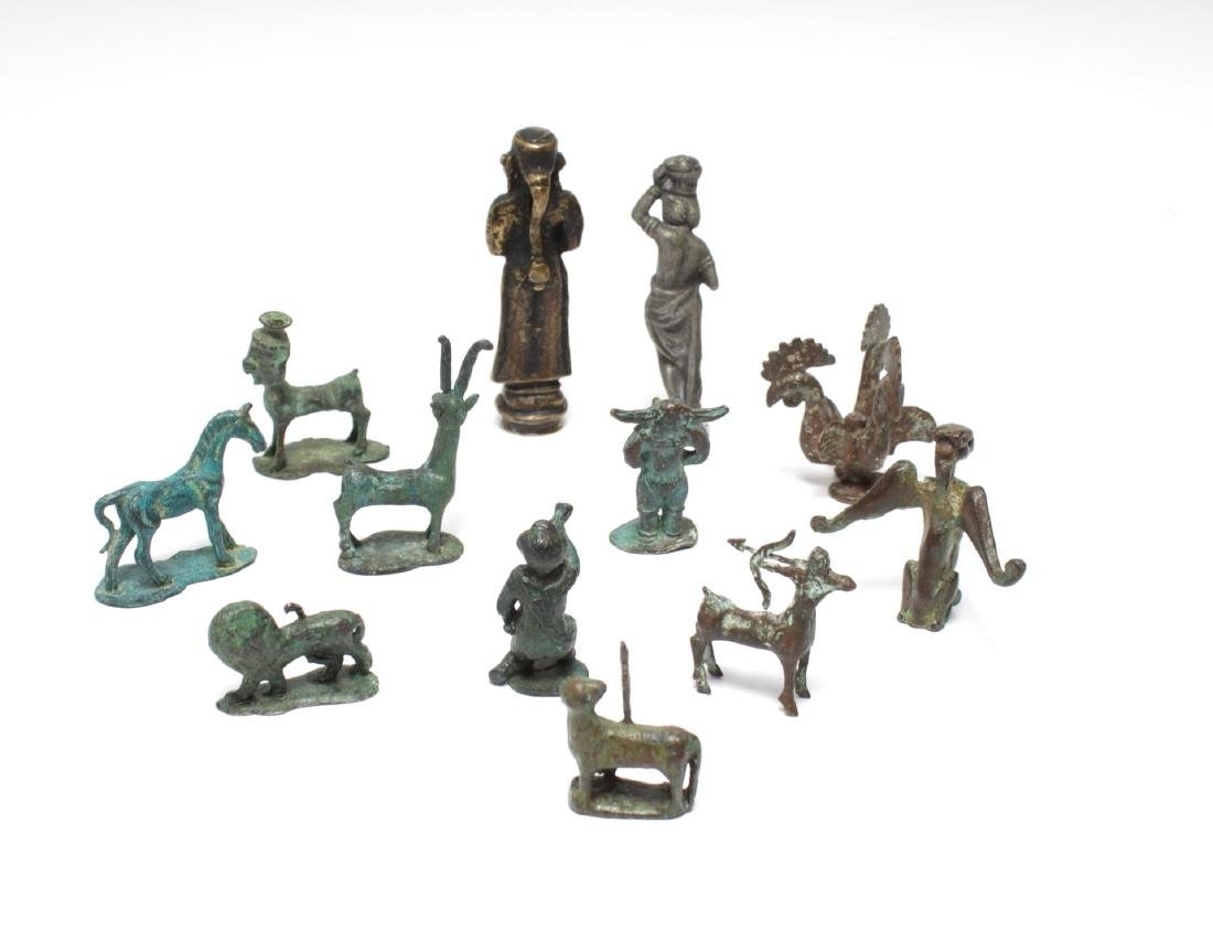 Archaeological-Manner & Other Metal Figures,12 - 10