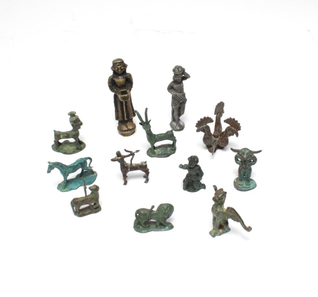 Archaeological-Manner & Other Metal Figures,12