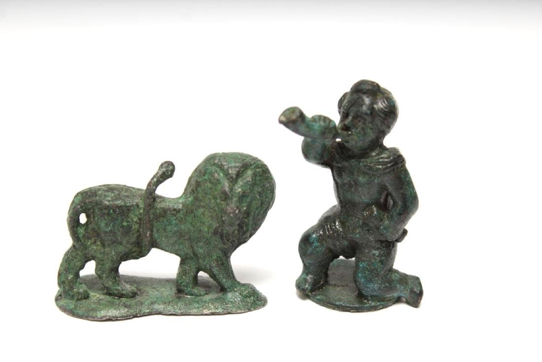 Archaeological-Manner & Other Metal Figures,12 - 3