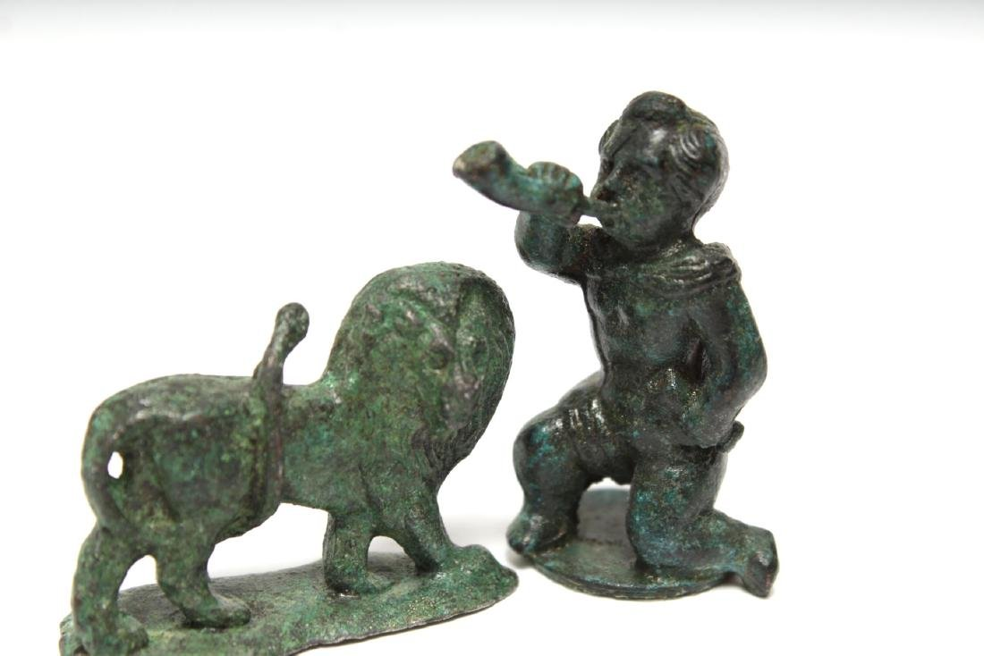 Archaeological-Manner & Other Metal Figures,12 - 4