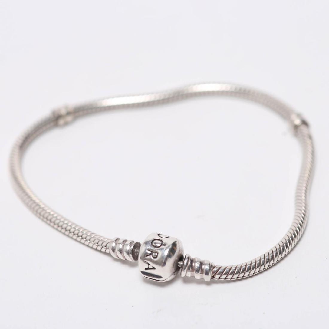Pandora Bracelet, Silver Chain for Charms