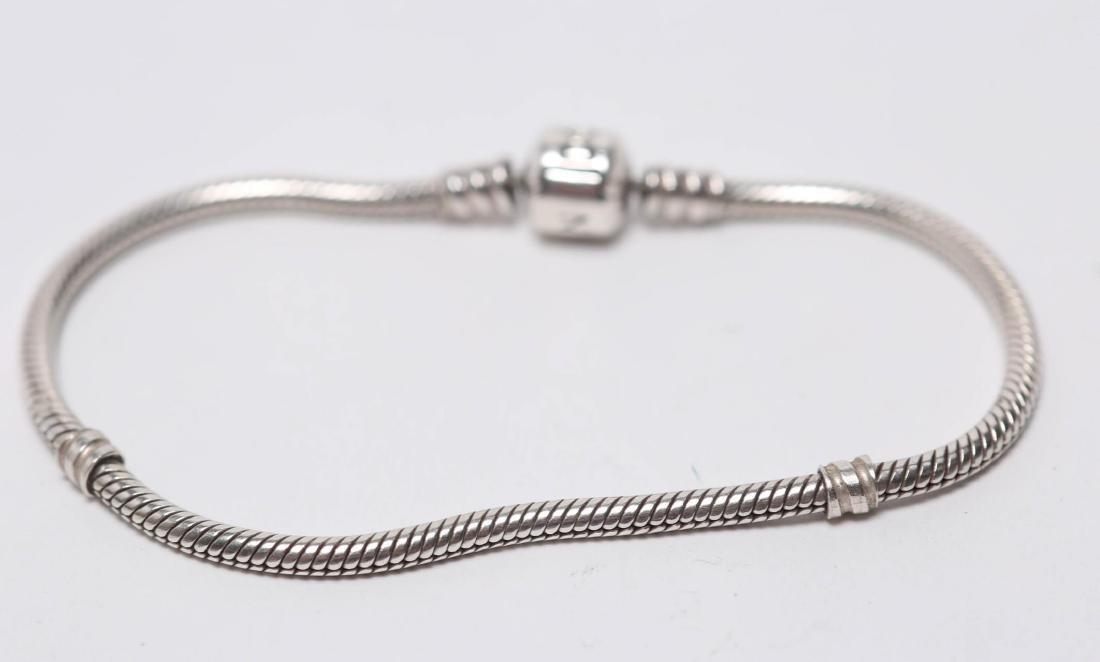 Pandora Bracelet, Silver Chain for Charms - 2