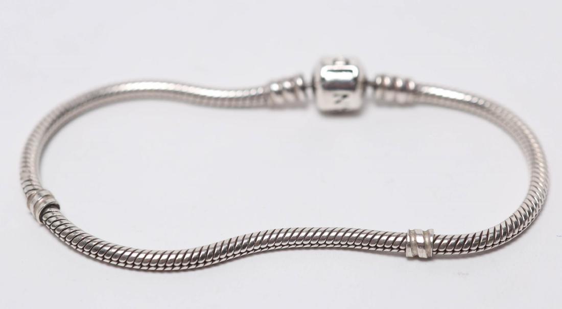 Pandora Bracelet, Silver Chain for Charms - 3