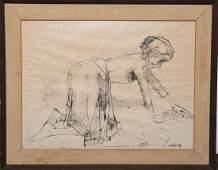 Jean Jansem (French, 1920-2013)- Drawing