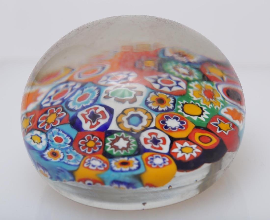 Murano Venetian Art Glass Paperweights, Group of 4 - 3