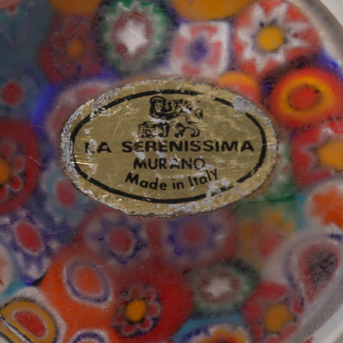 Murano Venetian Art Glass Paperweights, Group of 4 - 4