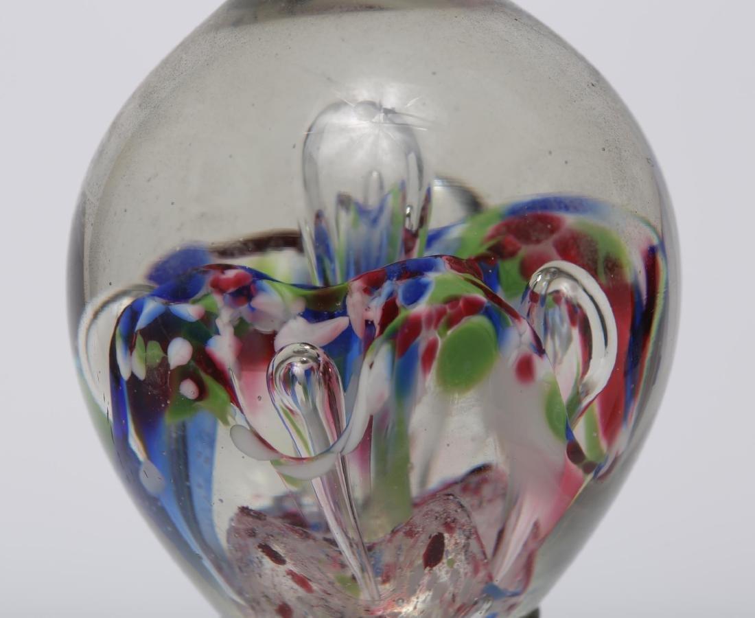 Murano Venetian Art Glass Paperweights, Group of 4 - 7