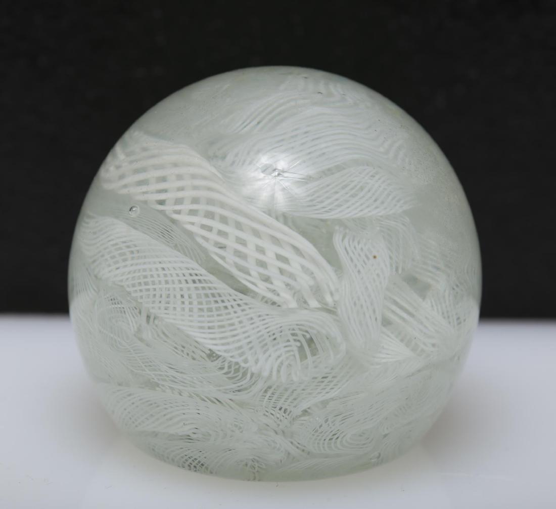 Murano Venetian Art Glass Paperweights, Group of 4 - 8