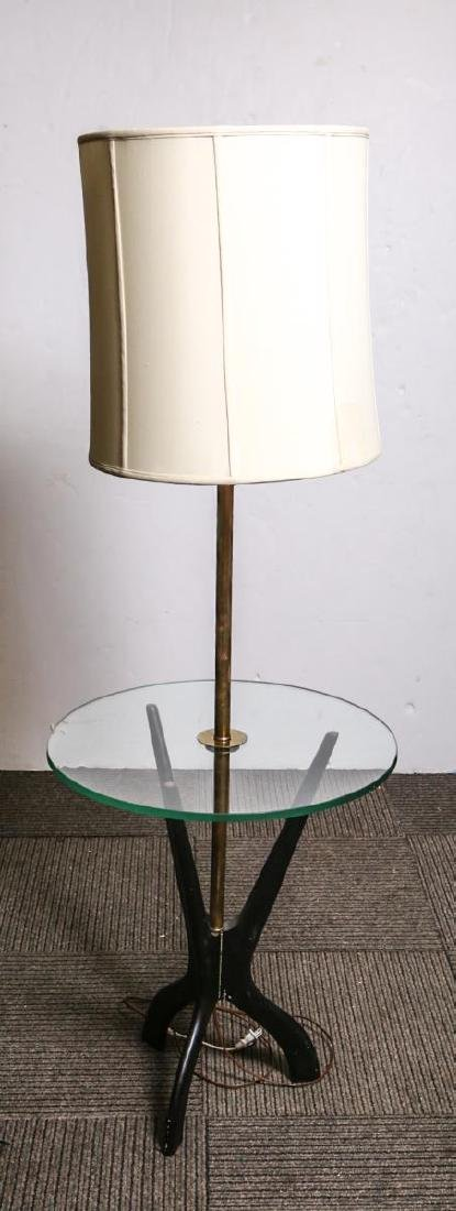 Adrian Pearsall-Manner Lamp Table, Glass & Wood