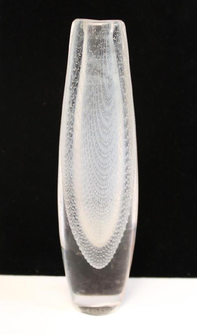 Orrefors Glass Swedish Mid-Century Kraka Vase