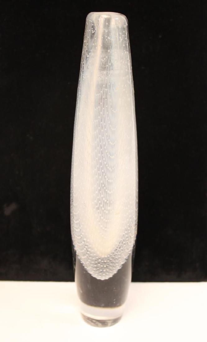 Orrefors Glass Swedish Mid-Century Kraka Vase - 4