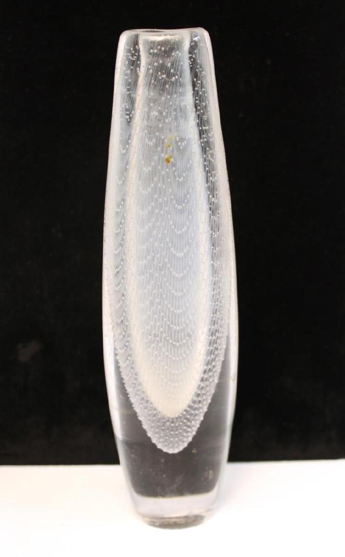 Orrefors Glass Swedish Mid-Century Kraka Vase - 5