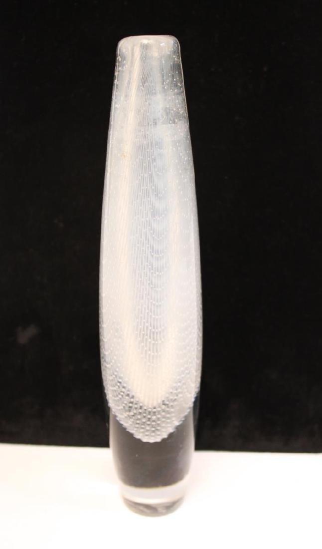 Orrefors Glass Swedish Mid-Century Kraka Vase - 6