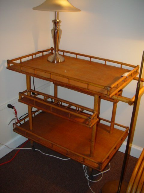 3009: A Ritt Tropitan Bar Cart c1950s
