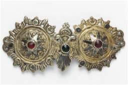 Ottoman Silver Double Eagle Belt Buckle