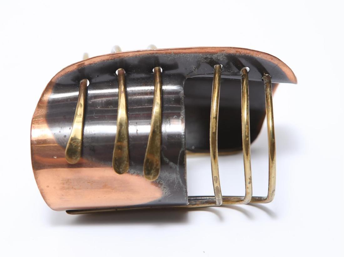 Art Smith Modernist Cuff Bracelet-Mixed Metal - 3