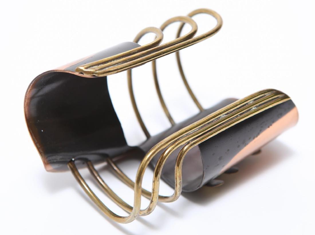 Art Smith Modernist Cuff Bracelet-Mixed Metal - 5