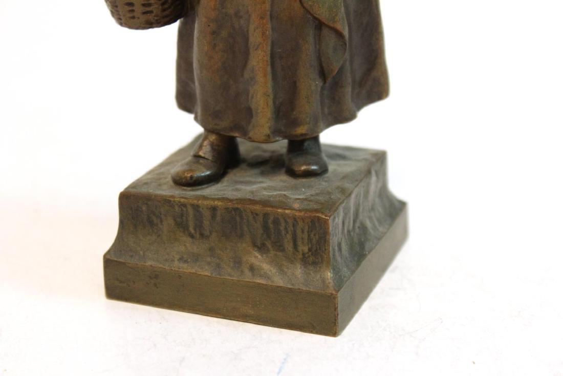 """Carl Kauba, """"Mother & Child"""" Bronze Sculpture - 7"""