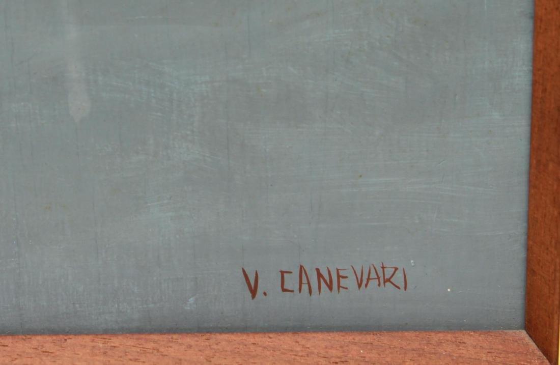 Veniero Canevari Clown & Tree Oil on Board - 2