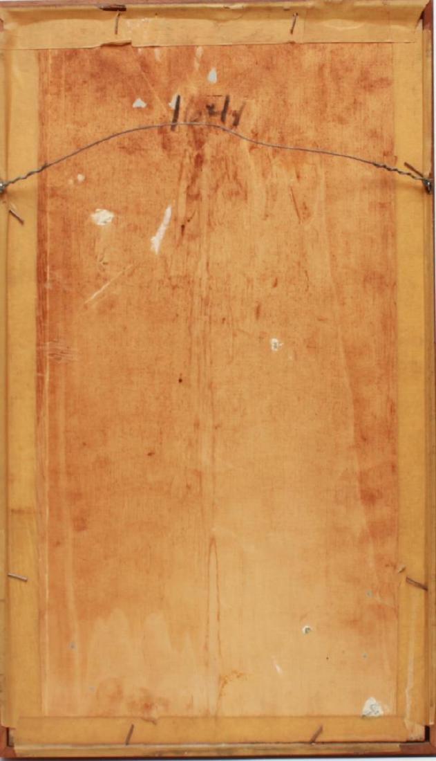 Veniero Canevari Clown & Tree Oil on Board - 4