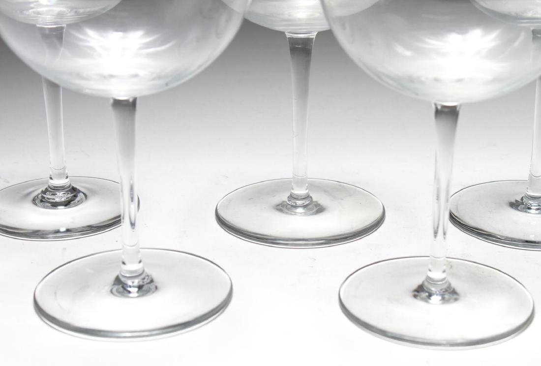 Baccarat Crystal Balloon Wine Glasses, Set of 7 - 2
