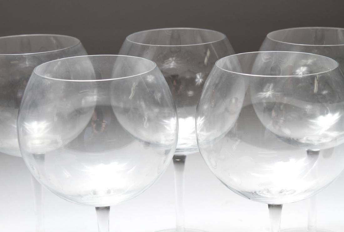 Baccarat Crystal Balloon Wine Glasses, Set of 7 - 3