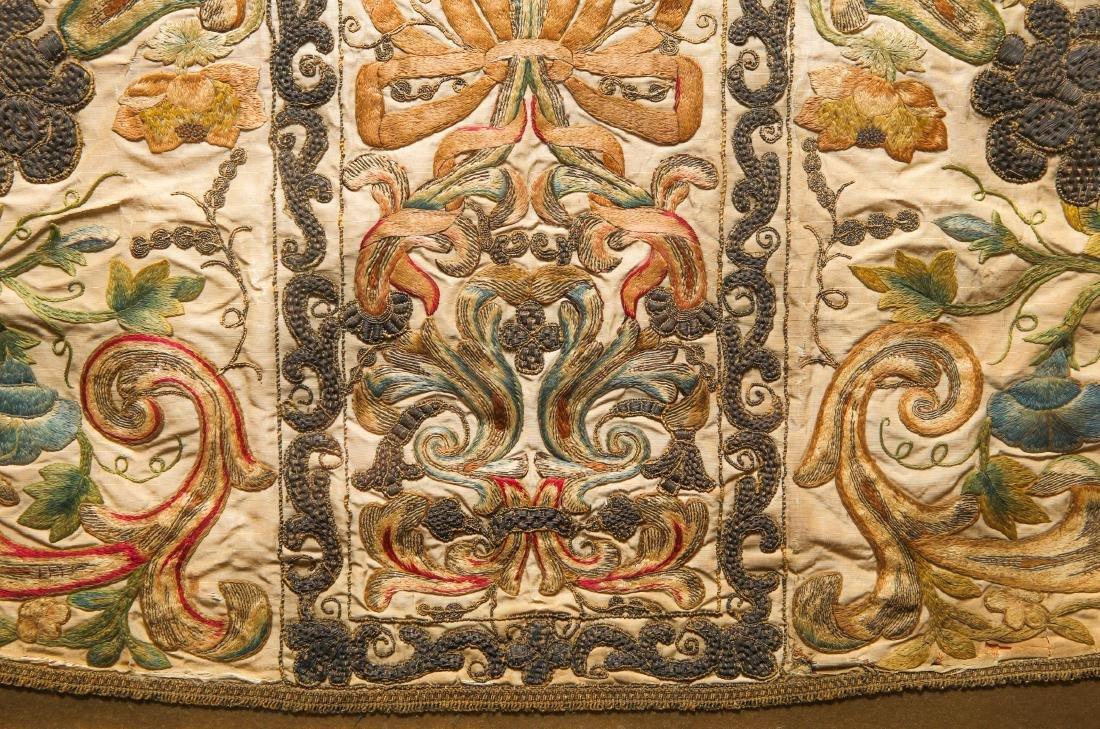Continental Catholic Liturgical Chasuble, Antique - 3