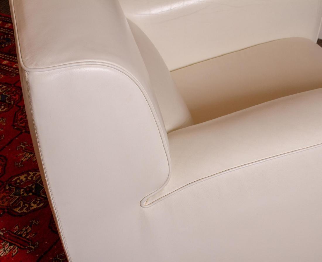 "Poltrona Frau Leather ""Madison"" Chair & Ottoman - 5"