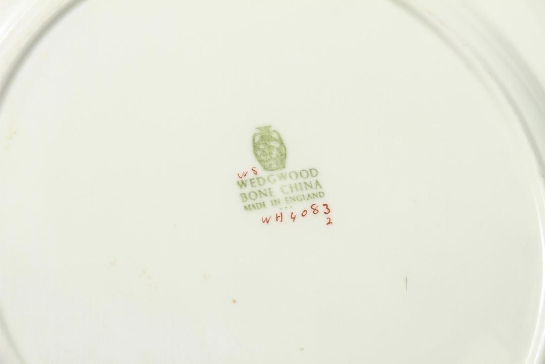Wedgwood Platinum Lustre Anemones Dinner Plates 12 - 3
