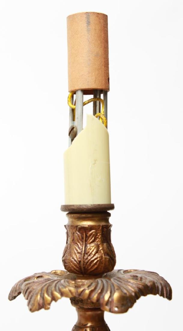 Neoclassical-Manner Gilt Bronze Candelabra Lamps-2 - 5