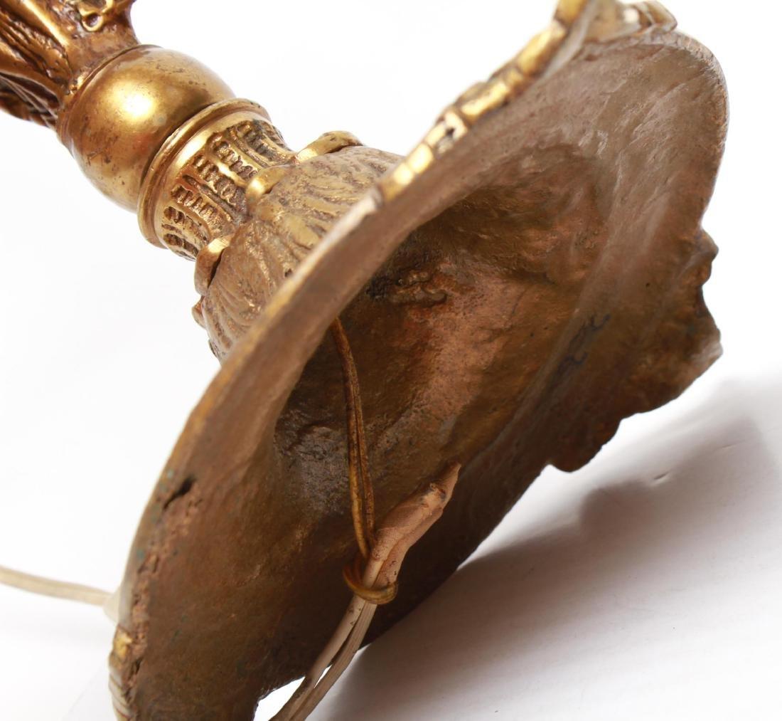 Neoclassical-Manner Gilt Bronze Candelabra Lamps-2 - 9