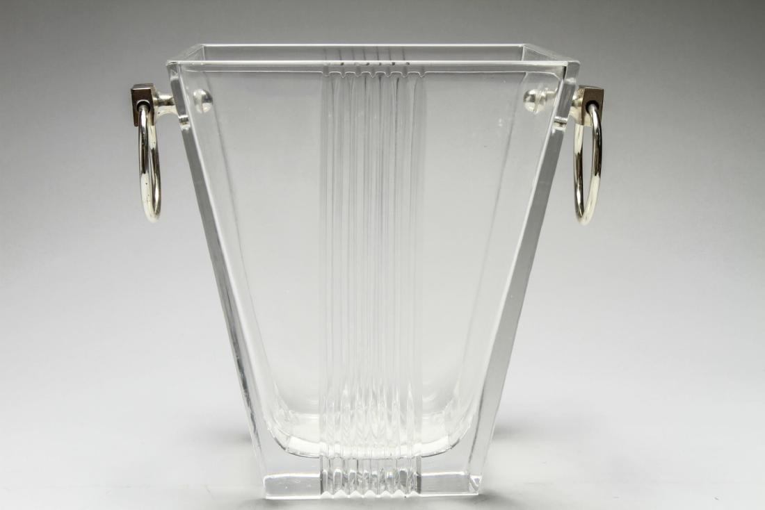 """Tiffany & Co. """"Metropolis"""" Crystal Ice Bucket"""