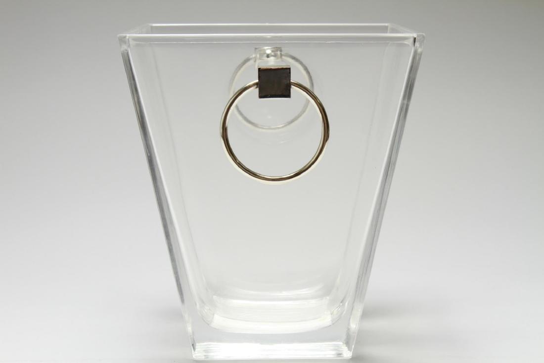 """Tiffany & Co. """"Metropolis"""" Crystal Ice Bucket - 2"""