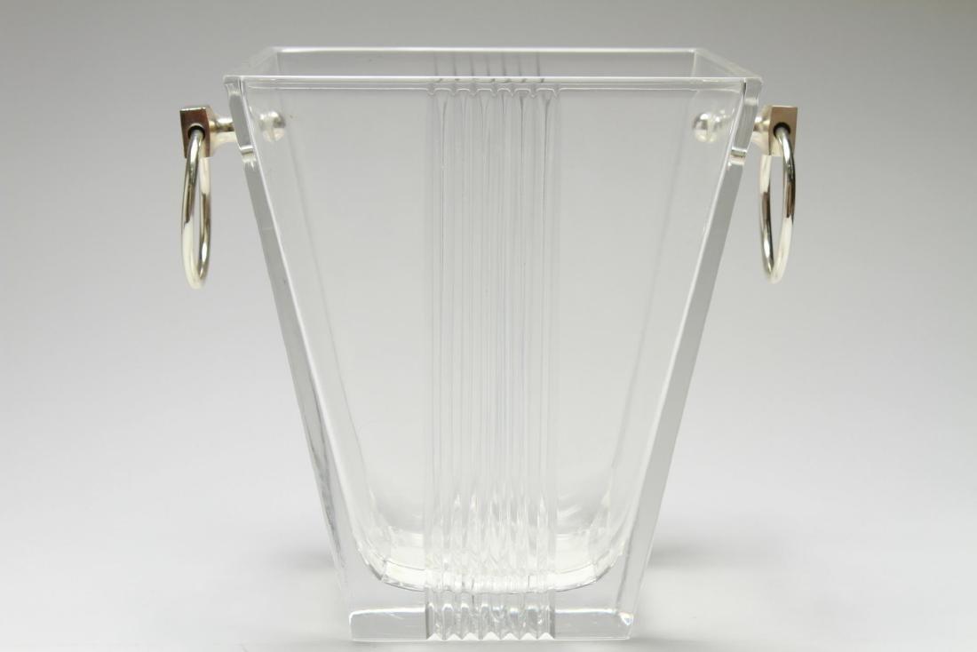 """Tiffany & Co. """"Metropolis"""" Crystal Ice Bucket - 3"""