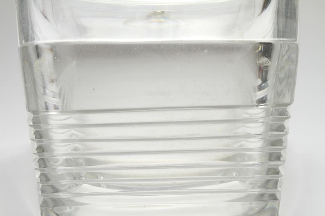 """Tiffany & Co. """"Metropolis"""" Crystal Ice Bucket - 6"""