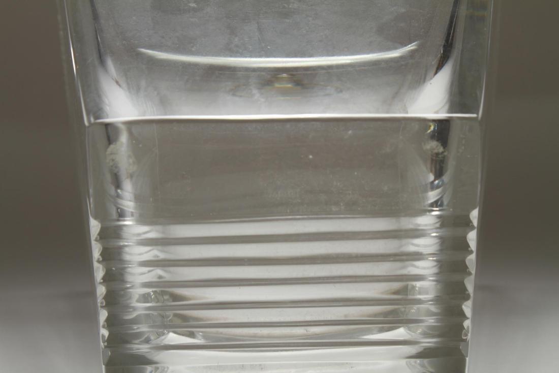 """Tiffany & Co. """"Metropolis"""" Crystal Ice Bucket - 8"""