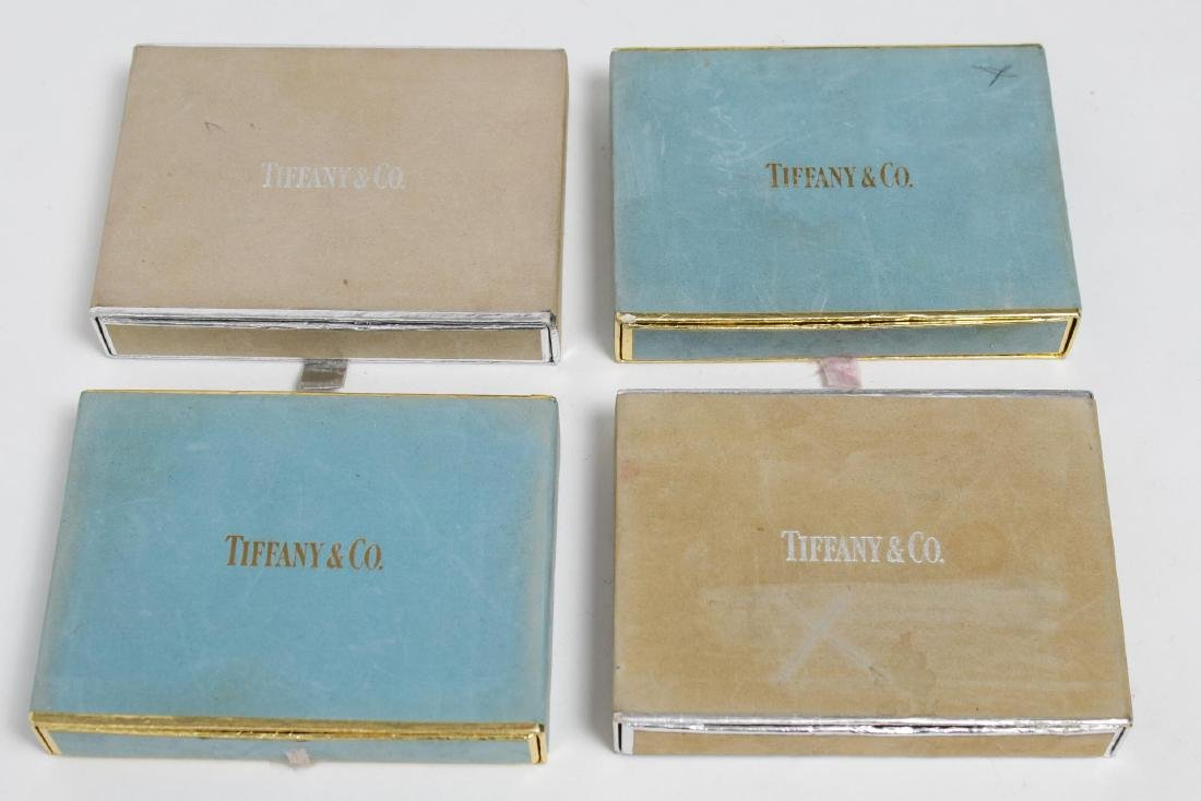 Tiffany & Co. Vintage Cased Playing Cards, 8 Sets - 2