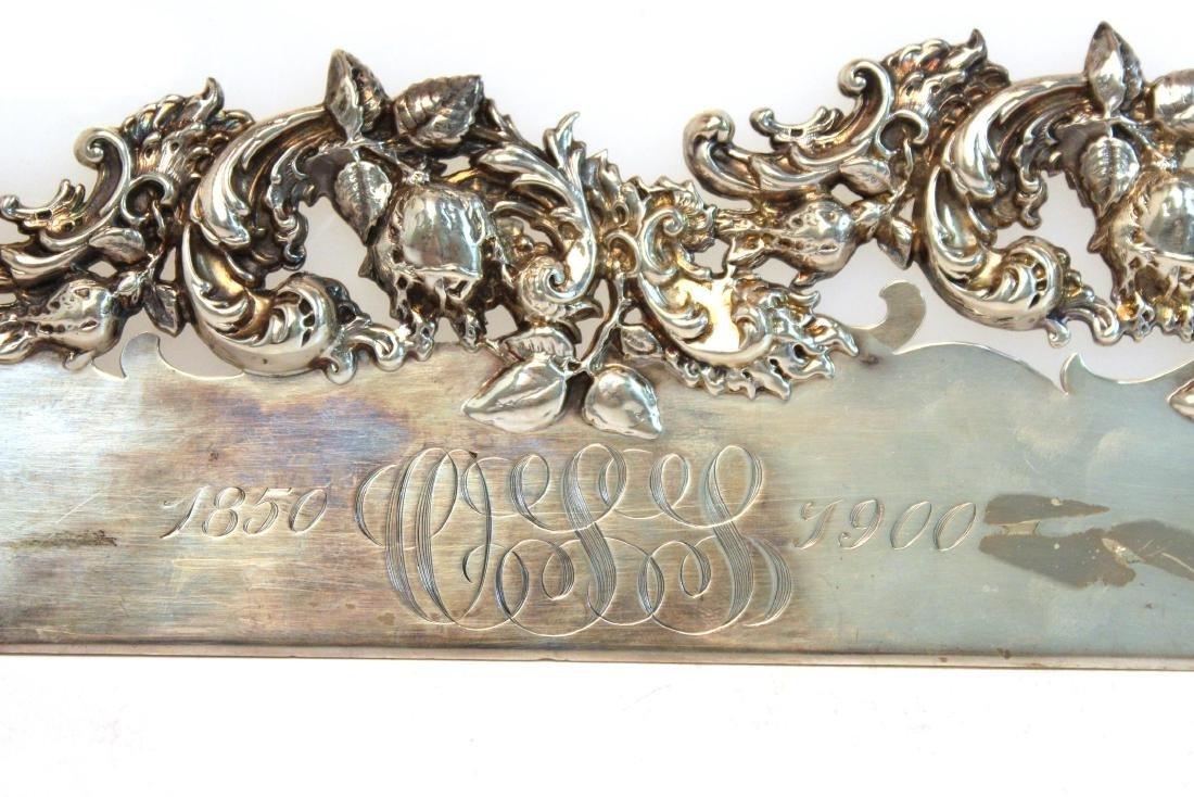 Baroque-Manner Sterling Butler's Table Crumber - 3