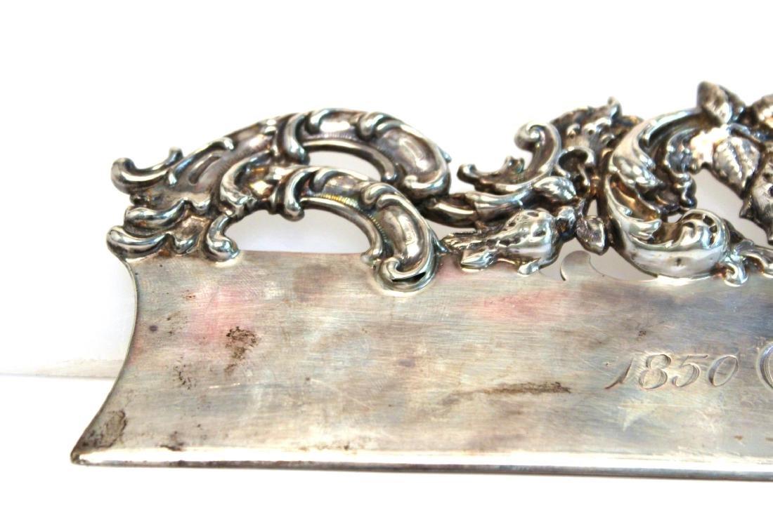 Baroque-Manner Sterling Butler's Table Crumber - 5