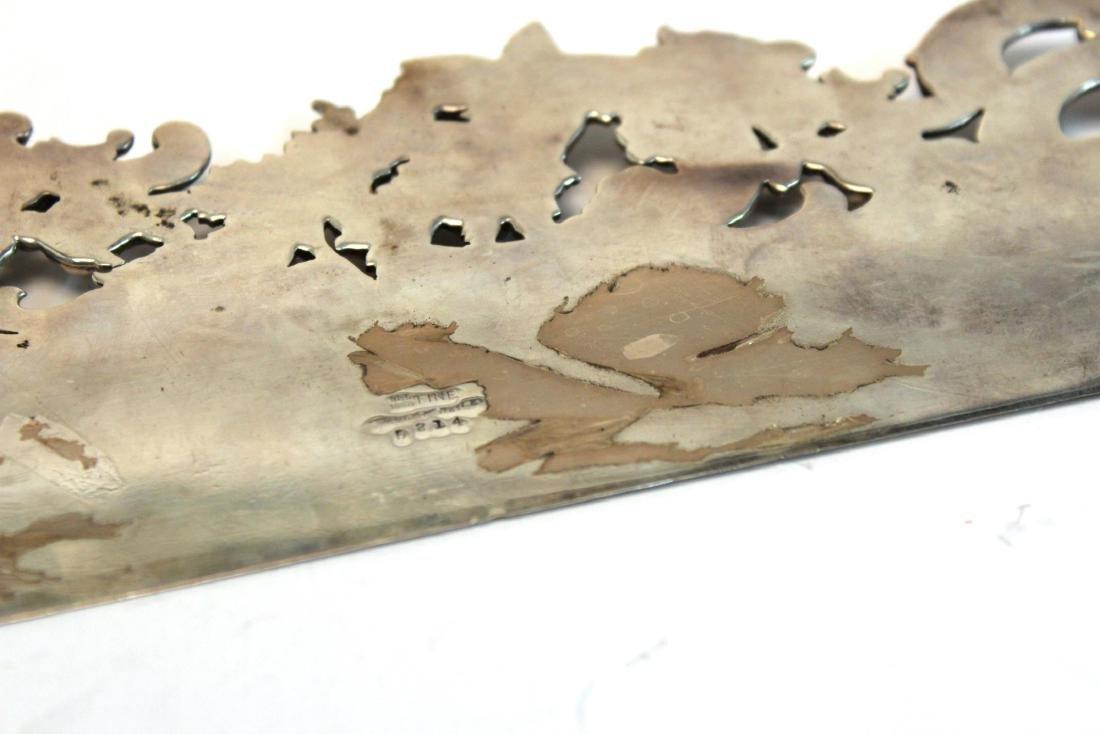 Baroque-Manner Sterling Butler's Table Crumber - 9