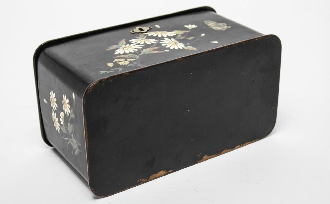 Victorian Japonaise Lacquer Tea Caddy - 5