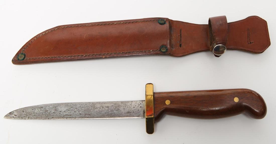 Vintage Hunting Knives with Leather Sheaths, 4 - 2