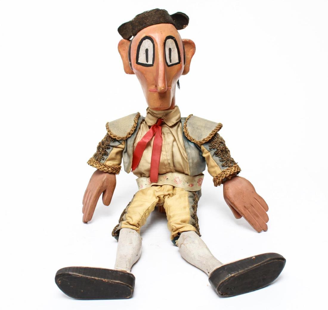 Bil Baird, Matador Puppet Marionette- Wood & Cloth