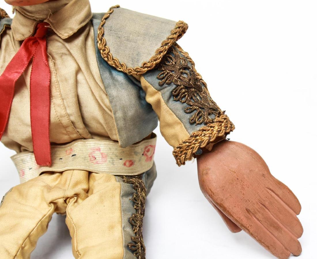 Bil Baird, Matador Puppet Marionette- Wood & Cloth - 3