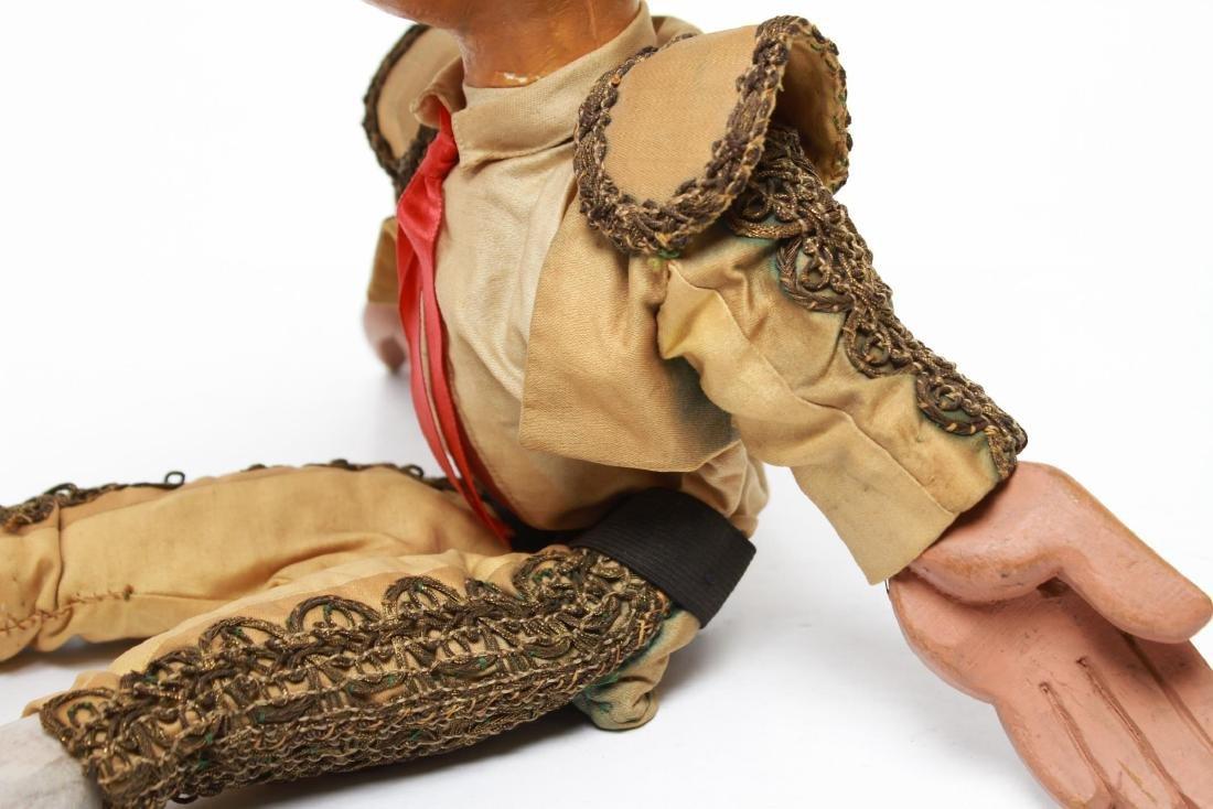 Bil Baird, Matador Puppet Marionette- Wood & Cloth - 4