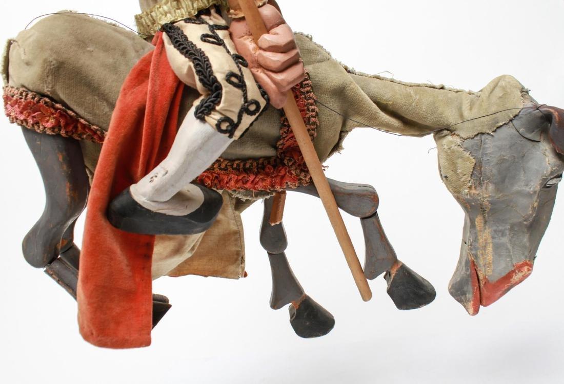 Bil Baird, Matador & Horse Puppet Marionette - 10