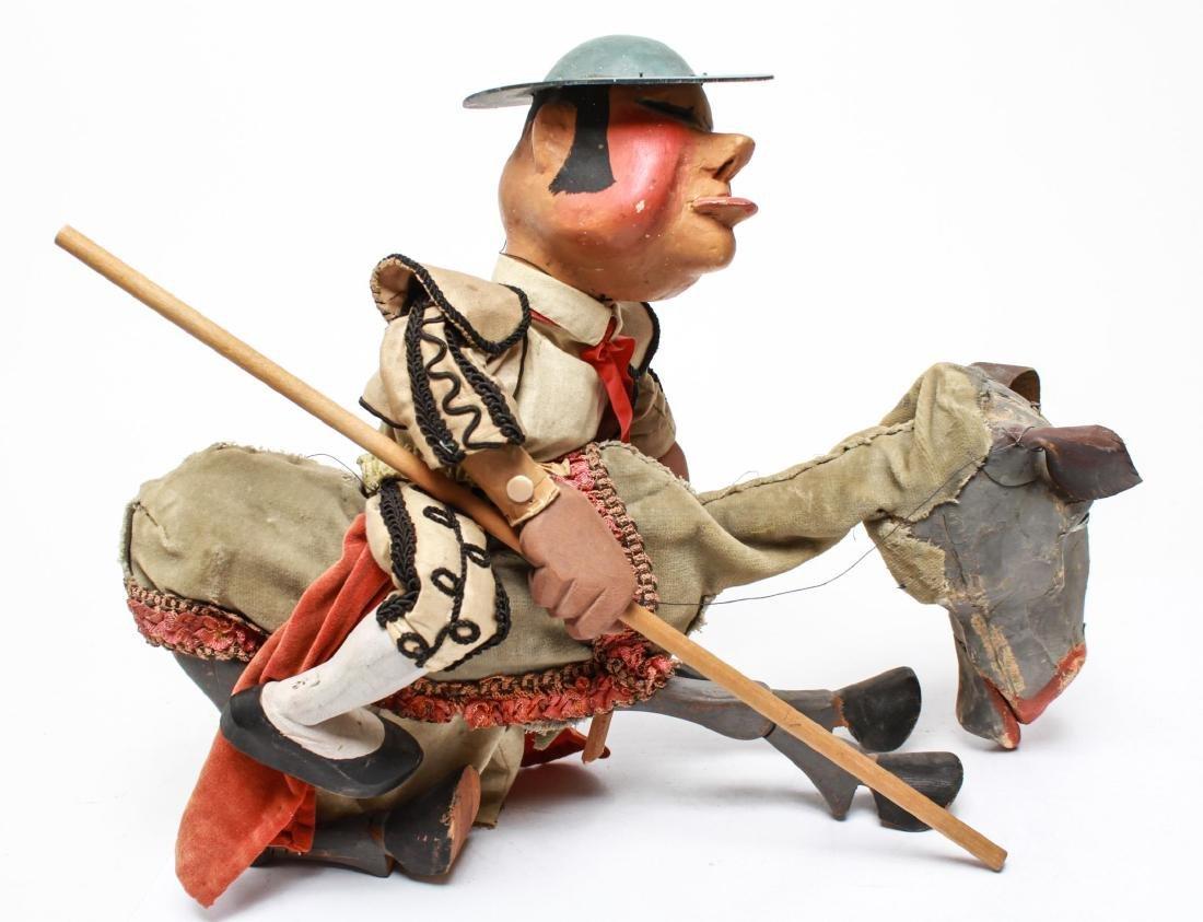 Bil Baird, Matador & Horse Puppet Marionette