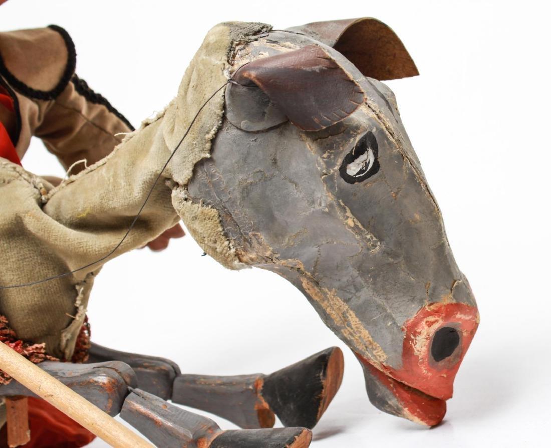 Bil Baird, Matador & Horse Puppet Marionette - 3