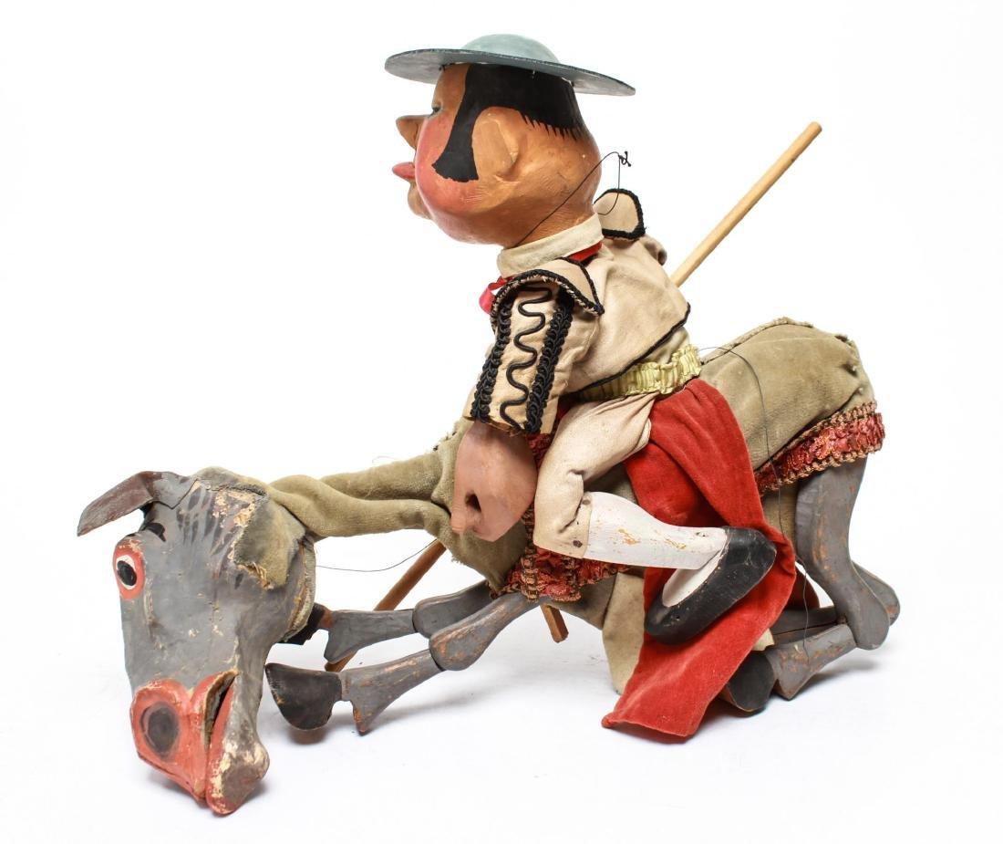 Bil Baird, Matador & Horse Puppet Marionette - 5