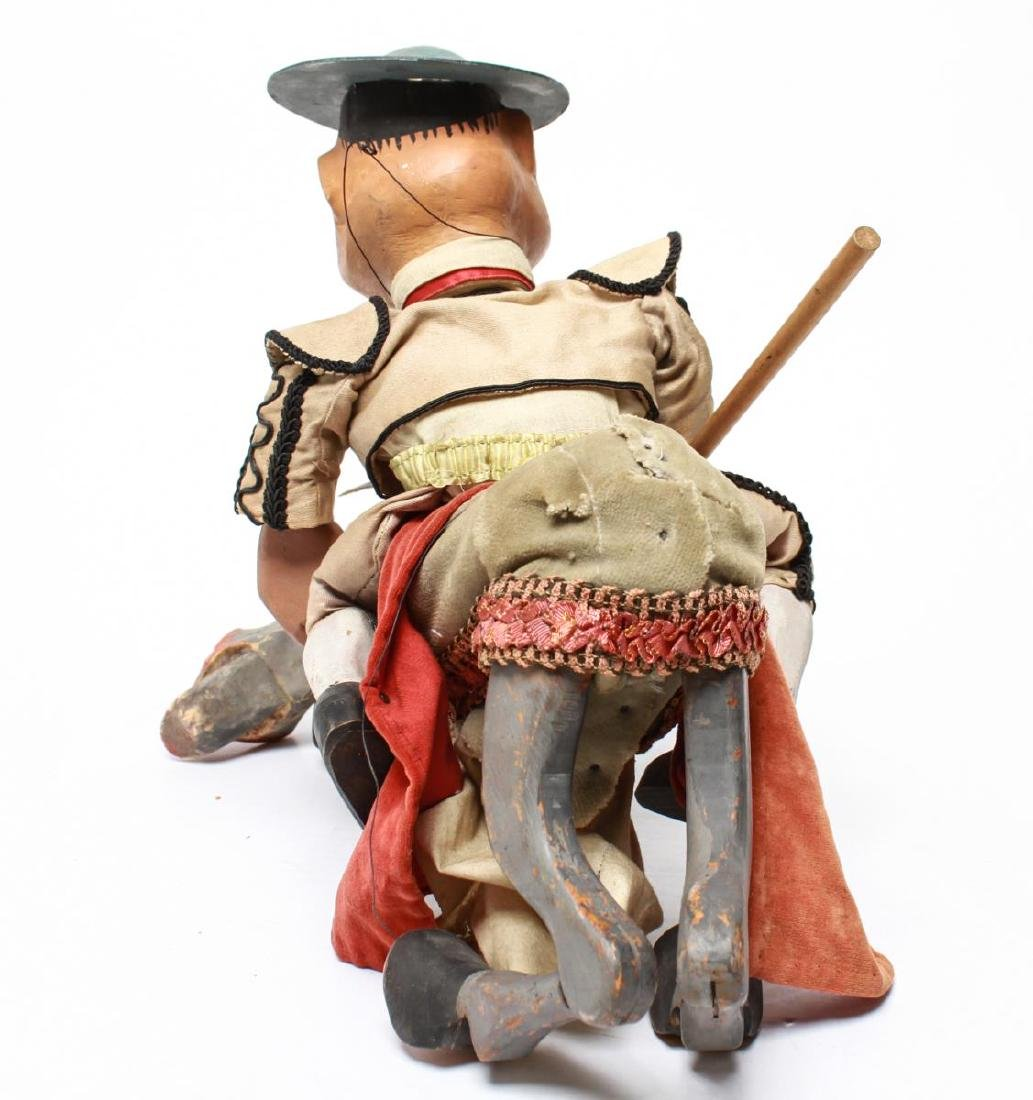 Bil Baird, Matador & Horse Puppet Marionette - 7